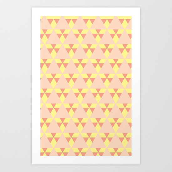 Quilt. Quilt. Quilt. Art Print