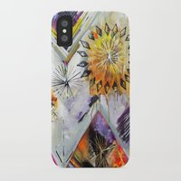 """flora bowley iPhone & iPod Cases featuring """"Burn Bright"""" Original Painting by Flora Bowley by Flora Bowley"""