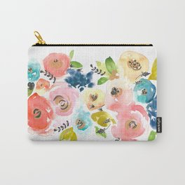 Floral POP #2 Carry-All Pouch