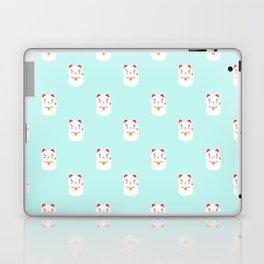 Lucky happy Japanese cat pattern Laptop & iPad Skin