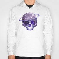 cosmic Hoodies featuring Cosmic Skull by Terry Fan