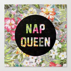Nap Queen Canvas Print