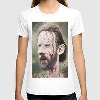 grimes T-shirts featuring Rick Grimes by dbruce