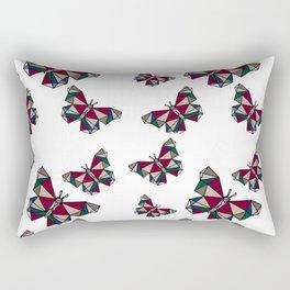 Borboletas Geométricas Rectangular Pillow