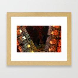 Potentially Hazardous  Framed Art Print