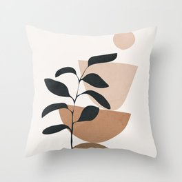 Minimal Shapes No.55 Throw Pillow