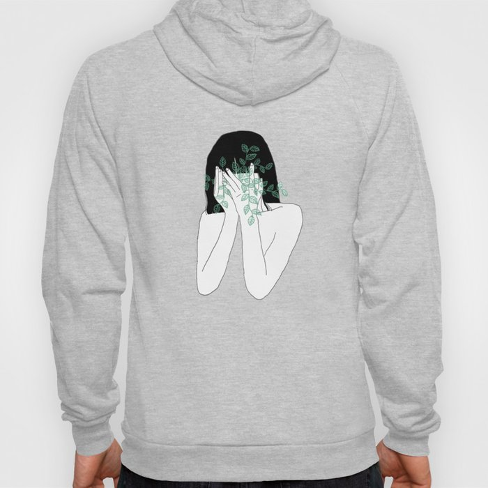 A little bit dissapointed in humanity / Illustration Hoody