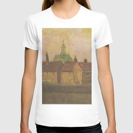 The new church and old houses in The Hague T-shirt