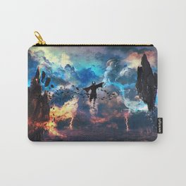 Avatar: The Last Airbender - Aang @ Avatar State - Fan Art Carry-All Pouch