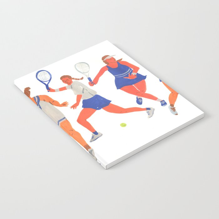 Tennis Girls Notebook