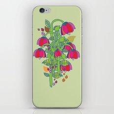 folk floral iPhone Skin