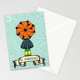 El Paraguas Stationery Cards