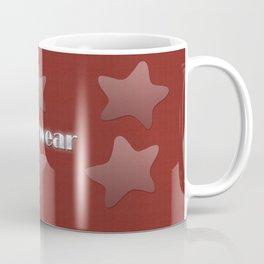 Cool Grey Silver Star Wear Coffee Mug