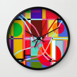 FRUITFUL Wall Clock