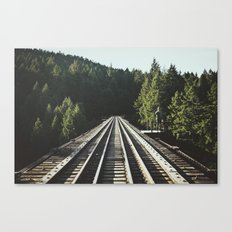 85 Meter High Trestle  Canvas Print