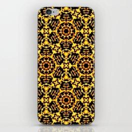 Sunny Gold Pattern iPhone Skin