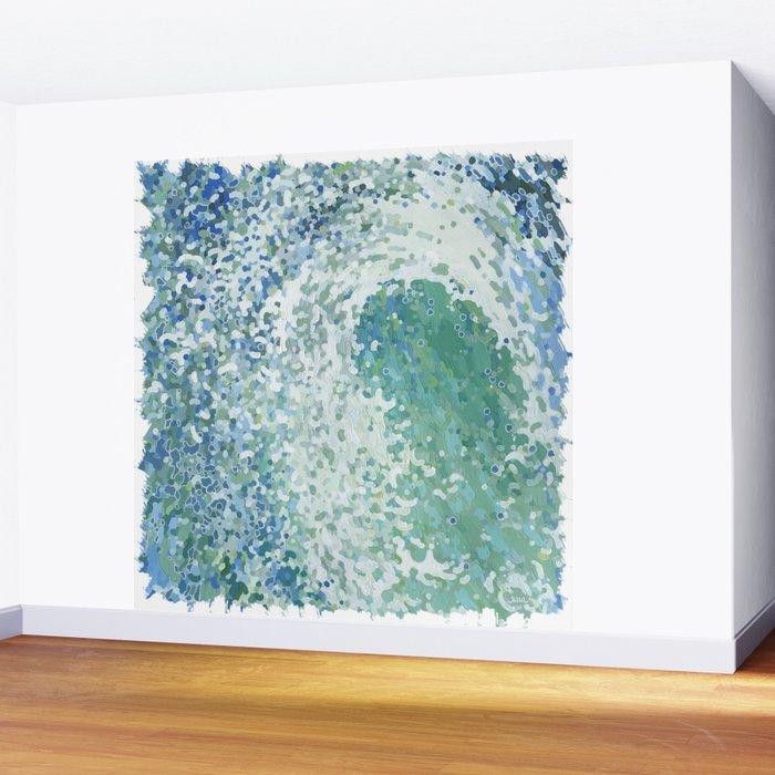 Amazonite Waves Surf Juul art Wall Mural