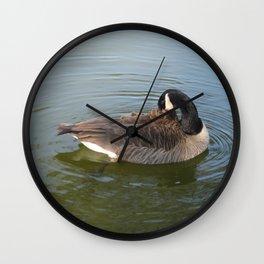Canadian Goose Wall Clock