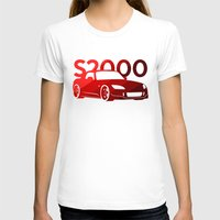 honda T-shirts featuring Honda S2000 - classic red - by Vehicle