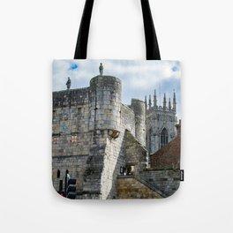 Bootham Bar and York Minster Tote Bag