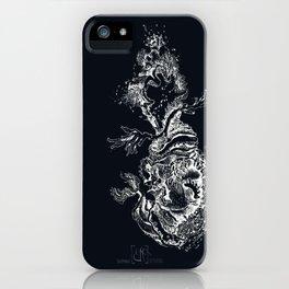 Sirène des abysses noir iPhone Case