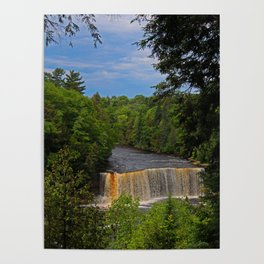 Tahquamenon Upper Falls VII Poster