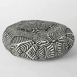 Kuna Indian Mola Pajaro Floor Pillow