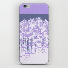 Lavender Mod Trees iPhone Skin