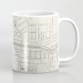Vintage Map of Syracuse New York (1873) Coffee Mug