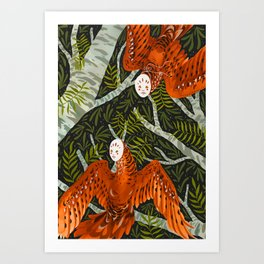 Forest Spirits Art Print