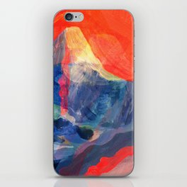 Abstract Mt. Everest iPhone Skin