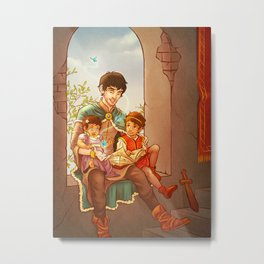 The Little Pendragons Metal Print