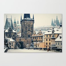 Karlův Most , Prague Canvas Print