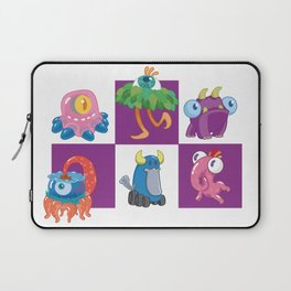 Six Silly Little Monsters Laptop Sleeve
