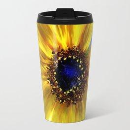 Sunflower Azul Travel Mug