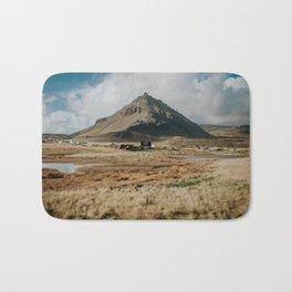 Mt. Stapafell, Snæfellsnes - Landscape Photography Bath Mat