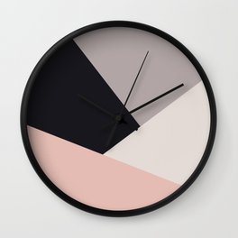 Elegant & colorful geometric Wall Clock