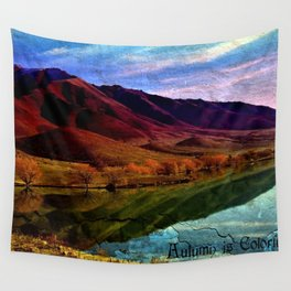 Autumn is Colorful Wall Tapestry