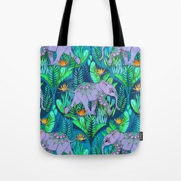 Little Elephant on a Jungle Adventure Tote Bag