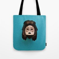 ace Tote Bags featuring Ace by Beastie Toyz
