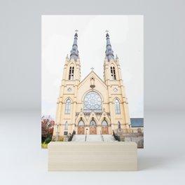 """St. Andrew's Catholic Church"" Mini Art Print"