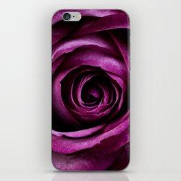 Aubergine Rose iPhone Skin