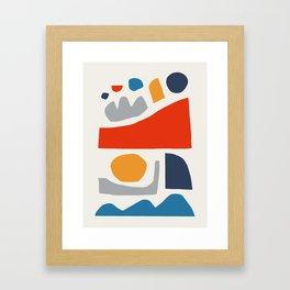 All night. Framed Art Print