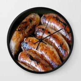Sausages Wall Clock
