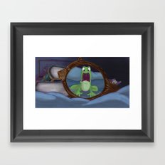 Surprised Framed Art Print