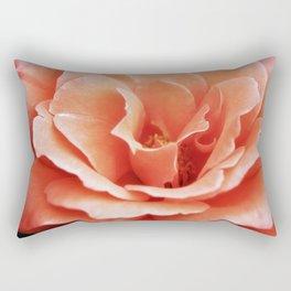 Anne Shirley - Salmon Rose Photograph Rectangular Pillow