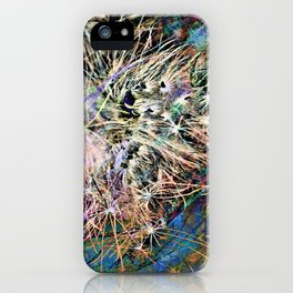 Fishing Lures Abstract PhotoArt iPhone Case