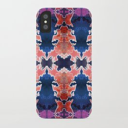 Skull Abstract iPhone Case