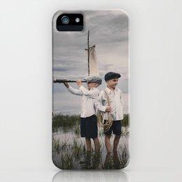 Aventure imaginaire iPhone Case