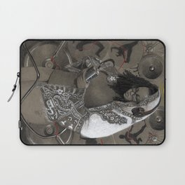 Holy Mother of HipHop Blessed Be Thy Beats. Laptop Sleeve